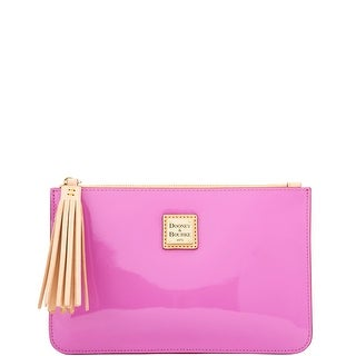 Dooney & Bourke Patent Carrington Pouch (Introduced by Dooney & Bourke at $98 in Feb 2018)