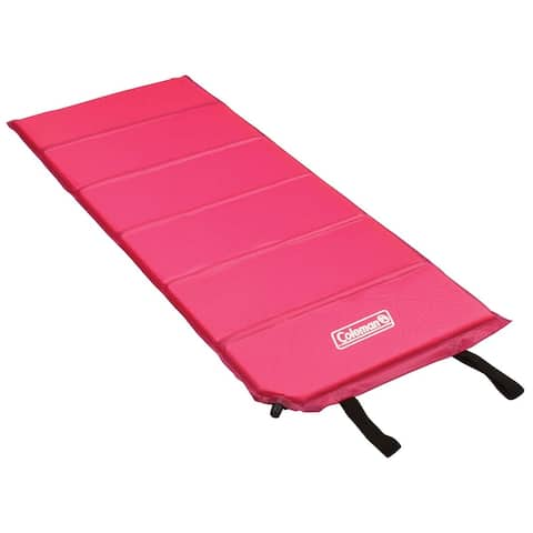 Coleman 2000014182 Youth Self-Inflating Camping Pad, Pink