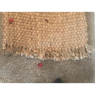 Safavieh Handmade Natural Fiber Cove Jute Rug with Fringe