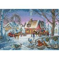 "Gold Collection Sweet Memories Counted Cross Stitch Kit-16""X11"" 14 Count"