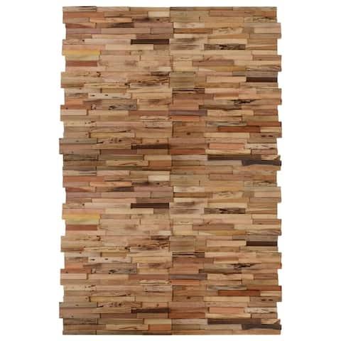 vidaXL Wall Cladding Panels 20 pcs Recycled Teak 21.5 ft²