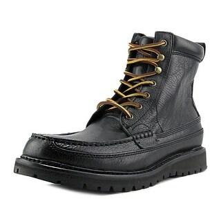 Polo Ralph Lauren Willingcott Round Toe Leather Combat Boot