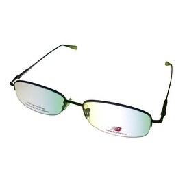 New Balance Mens Opthalmic Eyeglass Rimless Metal Frame 364 3 Taupe - Medium
