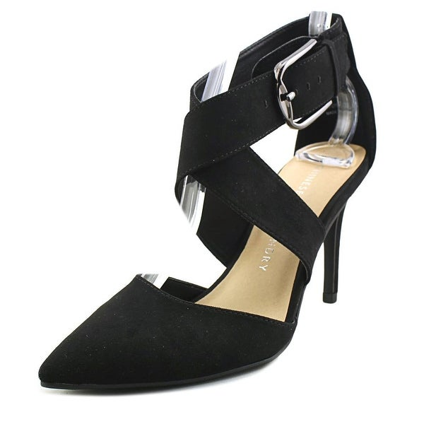 3d4369998a Shop Chinese Laundry Z-Raquel Women Pointed Toe Suede Black Heels ...