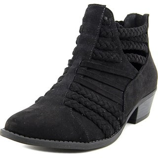 Qupid Sochi-87 Round Toe Synthetic Bootie