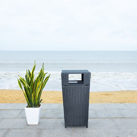 Safavieh Outdoor Living Mazeli Trash Bin