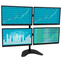 Mount-It! Quad Monitor Desk Stand