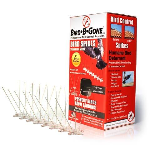"""Bird B Gone MM2001-5/6 Stainless Steel Bird Spikes, 5"""" x 6'"""