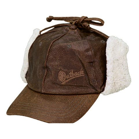 Outback Trading Western Hat Cap Adult McKinley Baseball Brown
