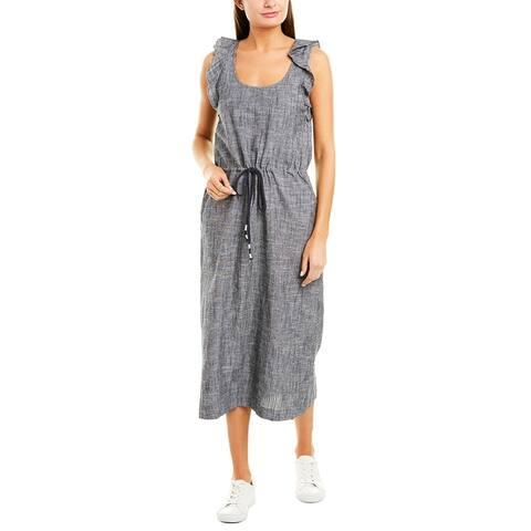 Lilla P Linen-Blend Maxi Dress