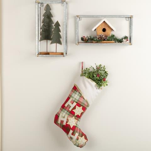 HO HO Holiday Stocking