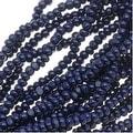 Czech Charlotte Seed Beads 13/0 Opaque Dark Blue 1/2 Hank - Thumbnail 0