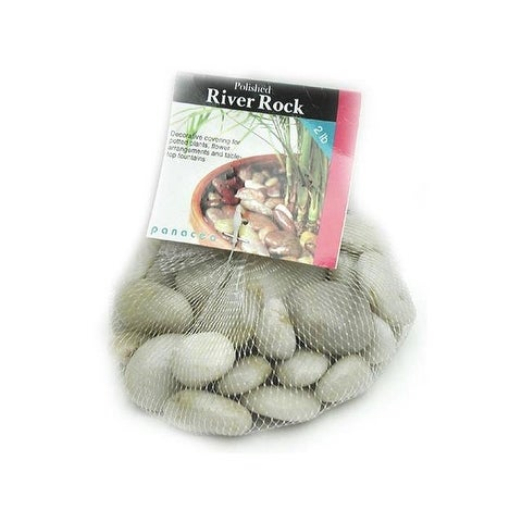 Panacea River Rock Bag 2lb White
