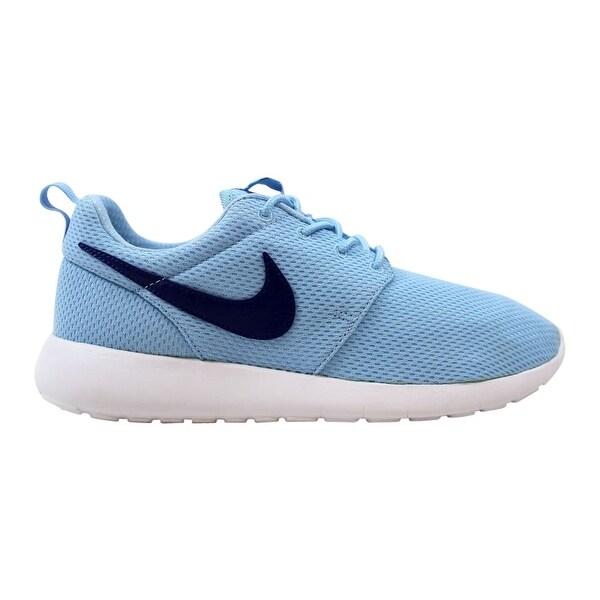 c29fc21a8d61d Shop Nike Roshe One Bluecap Deep Royal Blue-White 599729-410 Grade ...