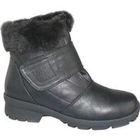 Toe Warmers Women's Kengi Winter Boot Black Polyurethane