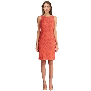 Sue Wong Soutache Embroidered Illusion Back Sheath Cocktail Evening Dress - 10