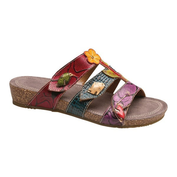 Women's Hand-Painted Aghna Sandals