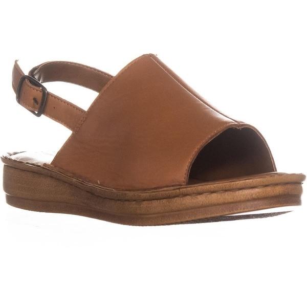 Bella Vita Wit-Italy Platform Ankle Strap Sandals, Tan