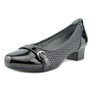 FootSmart Tracy   Round Toe Synthetic  Heels