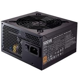 CoolerMaster Power Supply MWE BRONZE 500W Power Supply ATX 12V APFC SATA PCI Express 80 PLUS BRONZE Retail