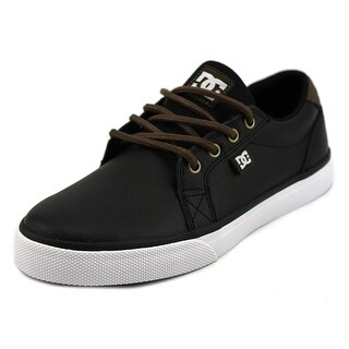 DC Shoes Council Round Toe Leather Skate Shoe