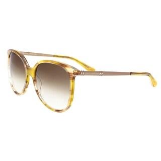 Juicy Couture - Juicy 590/S 0SX7 Light Havana Square Sunglasses - 56-17-140
