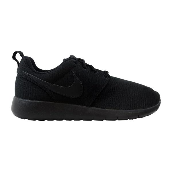 21eee681d1a0 Shop Nike Roshe One Black Black 599728-031 Grade-School - Free ...