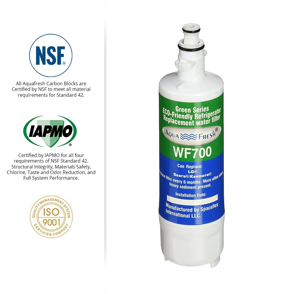 Fits Kenmore 51823 Refrigerators Aqua Fresh Replacement Water Filter 2 Pack