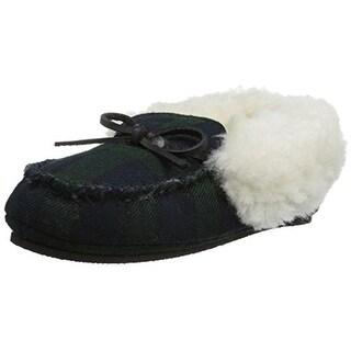 Polo Ralph Lauren Allister Plaid Slippers