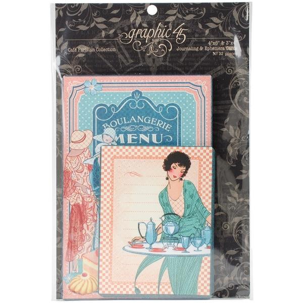Cafe Parisian Ephemera Cards-