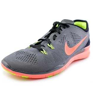 Nike Free 5.0 Tr Fit 5 Women Round Toe Synthetic Gray Cross Training