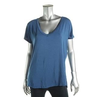 Honeydew Womens T-Shirt Modal Dolman Sleeves Navy S
