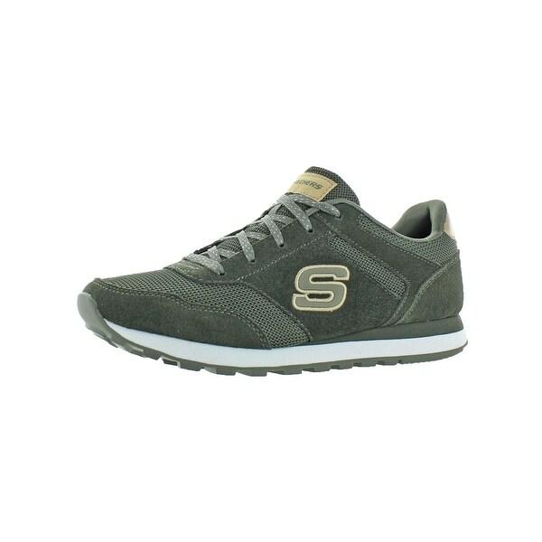 Shop Skechers Womens Events Casual Shoes Suede Memory Foam