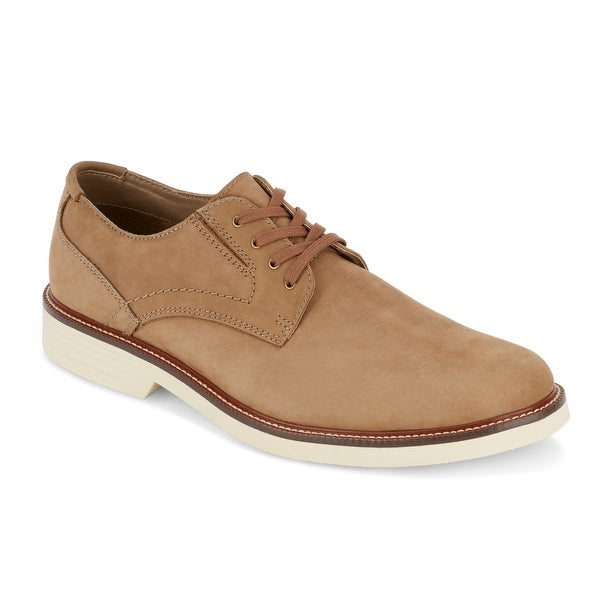 G.H. Bass & Co. Mens Madison Leather Oxford Shoe with NeverWet