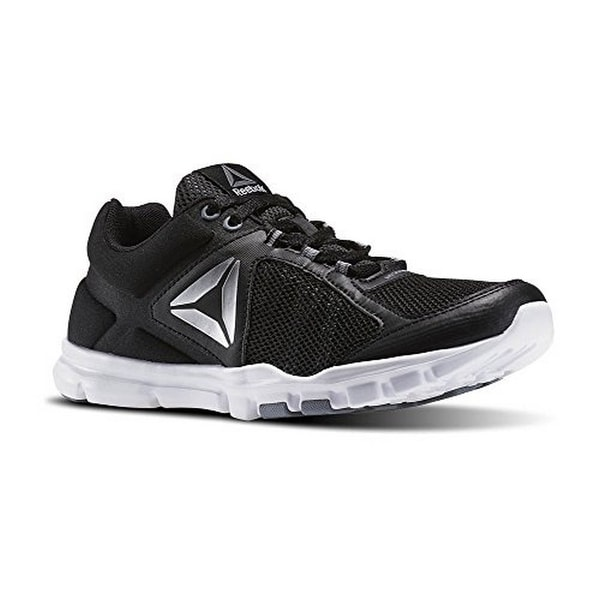 Reebok Mens Yourflex Trainette 9.0 Mt, Blk/Wht/Asteroid Dust/Sil, 6
