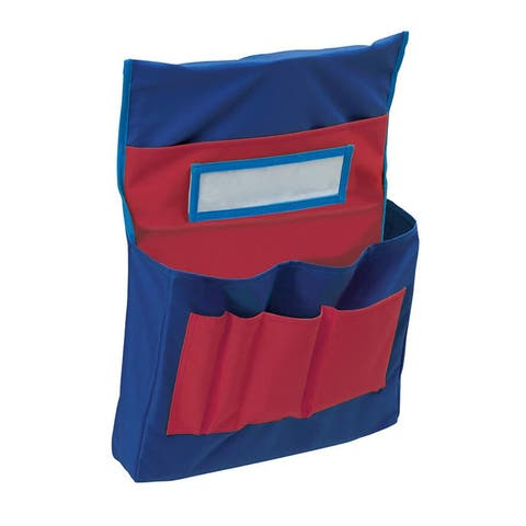 Pacon chair storage pocket chart 20060 - Blue