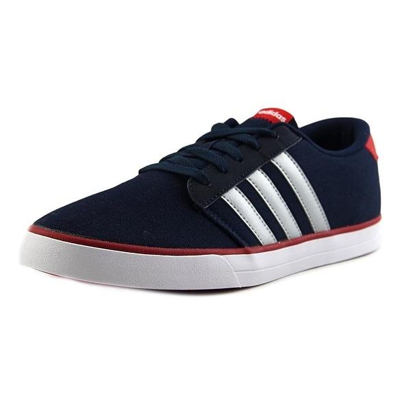 e441fc301 Shop Adidas Mens VS Skate Fabric Low Top Lace Up Skateboarding Shoes ...