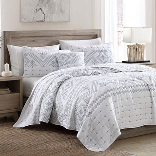 Link to Brielle Home Cross Stitch Quilt Set Similar Items in Quilts & Coverlets