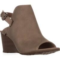 c34aa67e16da3d ESPRIT Angie Peep-Toe Wedge Bootie Sandals