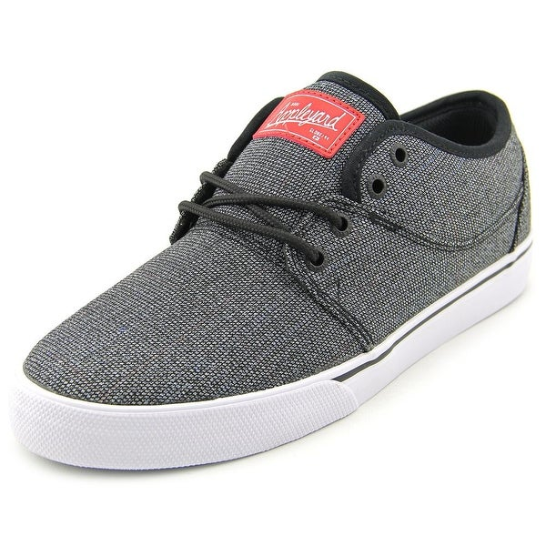 Globe Mahalo Men Round Toe Canvas Gray Skate Shoe