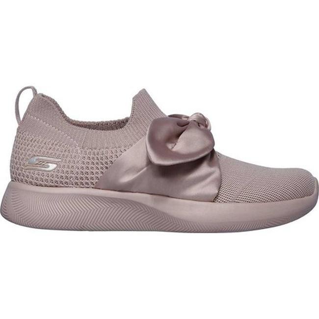 Skechers Women's BOBS Sport Squad 2 Bow Beauty Sneaker Pink