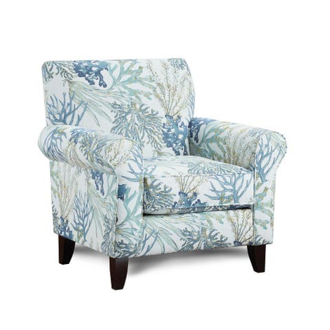 Coral Reef Oceanside Accent Chair