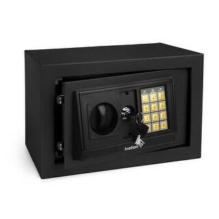Ivation Electronic Digital Safe Box for Home & Office (Black)