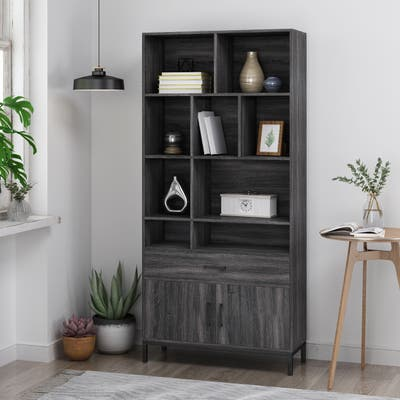 Gallatin Faux Wood Cube Unit Bookcase by Christopher Knight Home