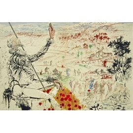 The Golden Age, 1957 Limited Edition, Lithograph, Salvador Dali