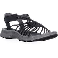 BareTraps Olissa Strappy Sandals, Black