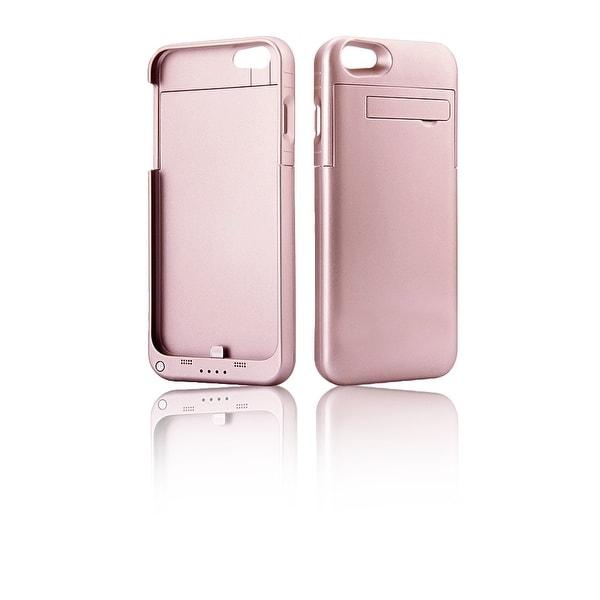 Indigi® High Capacity Reserve 4000mAh External Battery Case (Rose Gold) for iPhone 7 plus