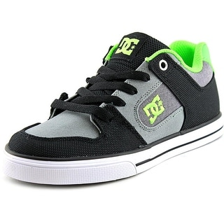 DC Shoes Pure TX SE   Round Toe Canvas  Skate Shoe