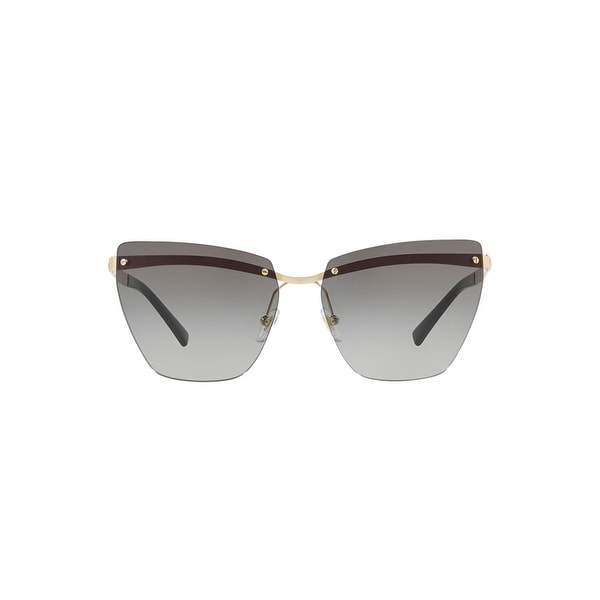 1909ab1d0e Shop Versace Ladies Sunglasses In Pale Gold And Gray Gradient - Pale Gold -  58-14-140 - Free Shipping Today - Overstock - 26301306