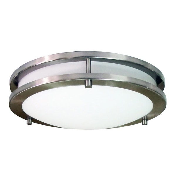 HomeSelects International 6106 Saturn 3 Light Flush Mount Ceiling Fixture